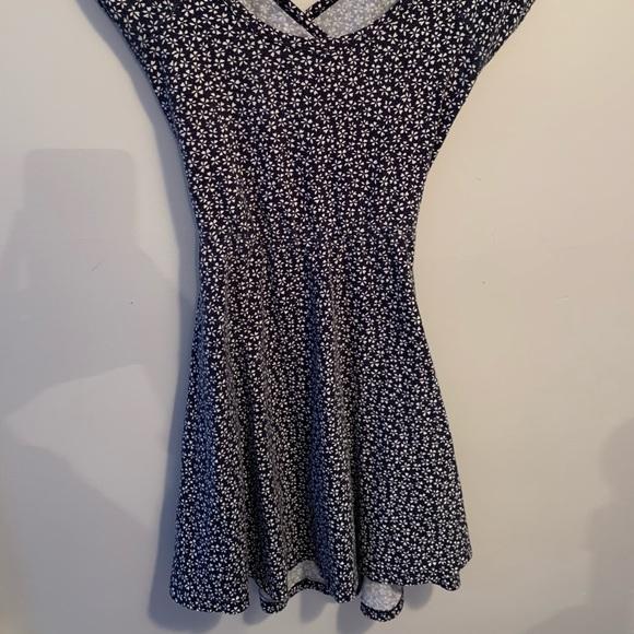 Brandy Melville Cross Wrap Back Dress
